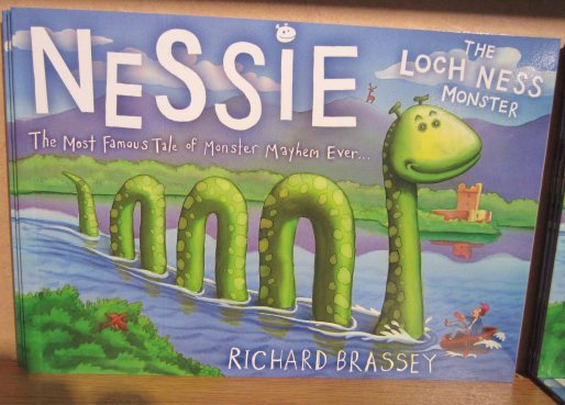 A Nessie storybook for children...