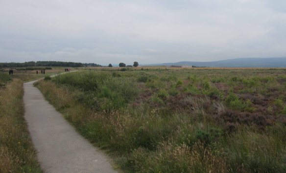 The bleak Culloden Moor, much the same today as it was in 1746.