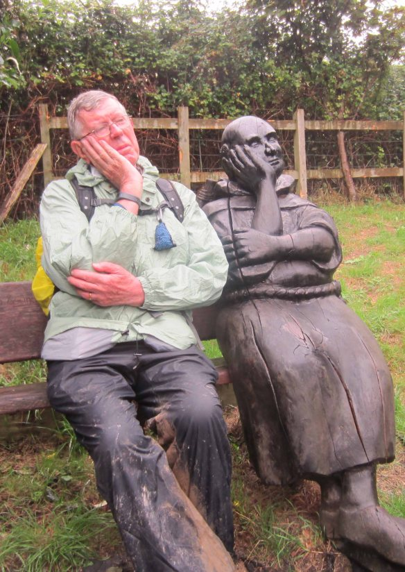 I contemplate the downside of pilgrimage along England's Camino.