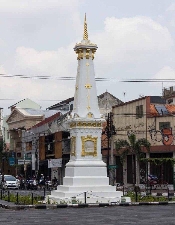 Jogjakarta's Tugu landmark (Wikipedia image)