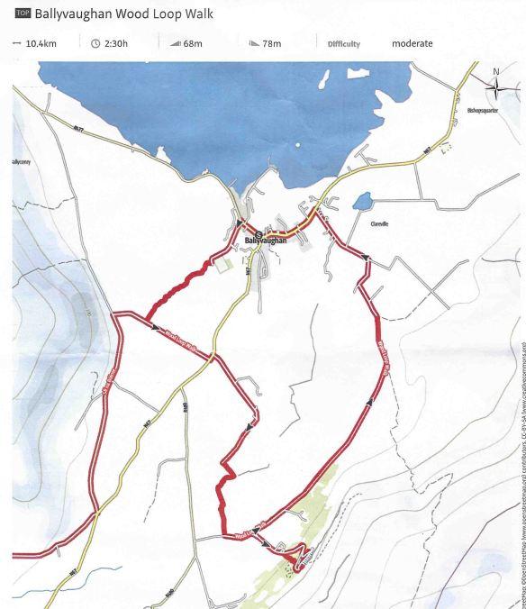 Ballyvaughan map